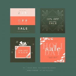 social-media-sale-marketing-boards