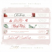 watercolorvol2address-labels