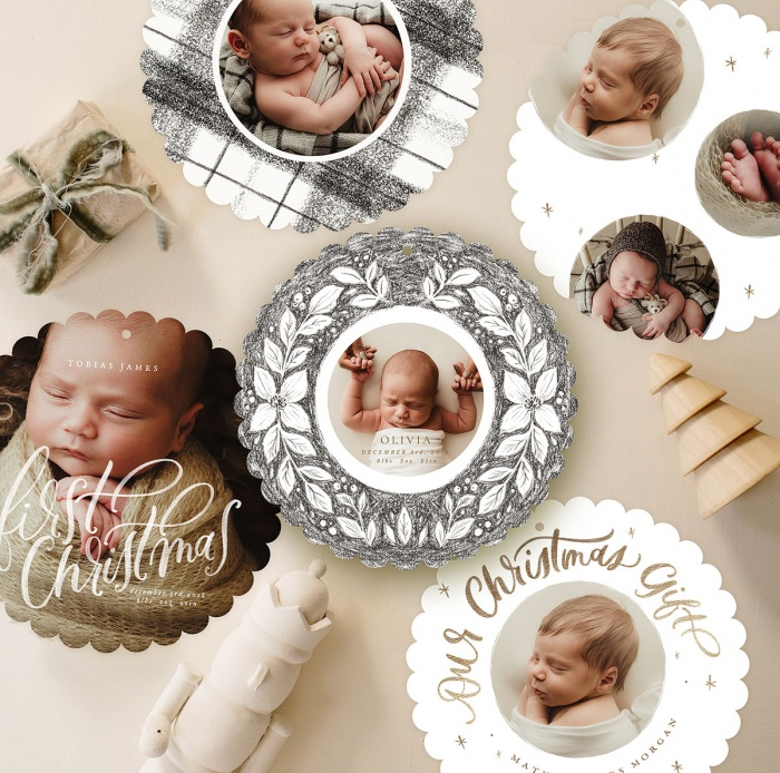 Baby_first_christmas_circle_cards