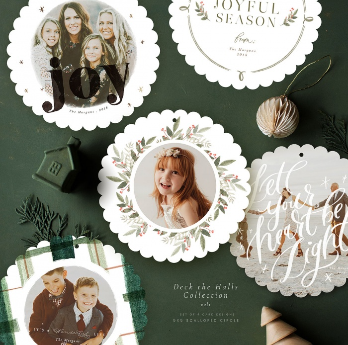 deck_the_halls_scalloped_circle_cards_vol1