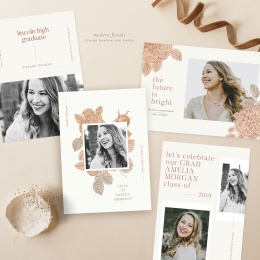 modern_florals_graduation_cards