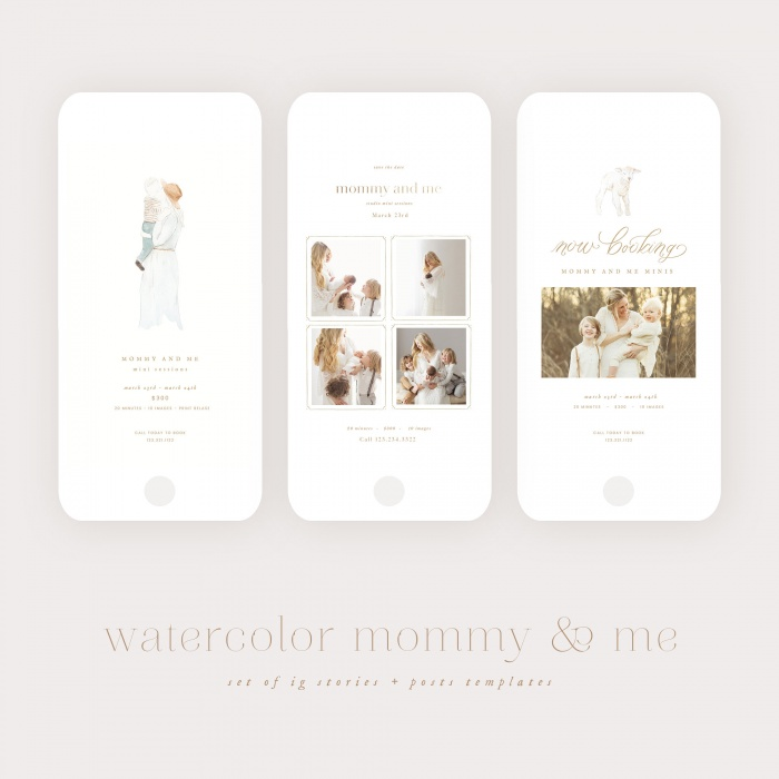 watercolor_mommy_and_me_ig_templates