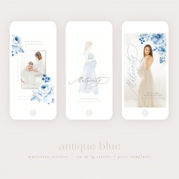 antique_blue_maternity_ig_templates