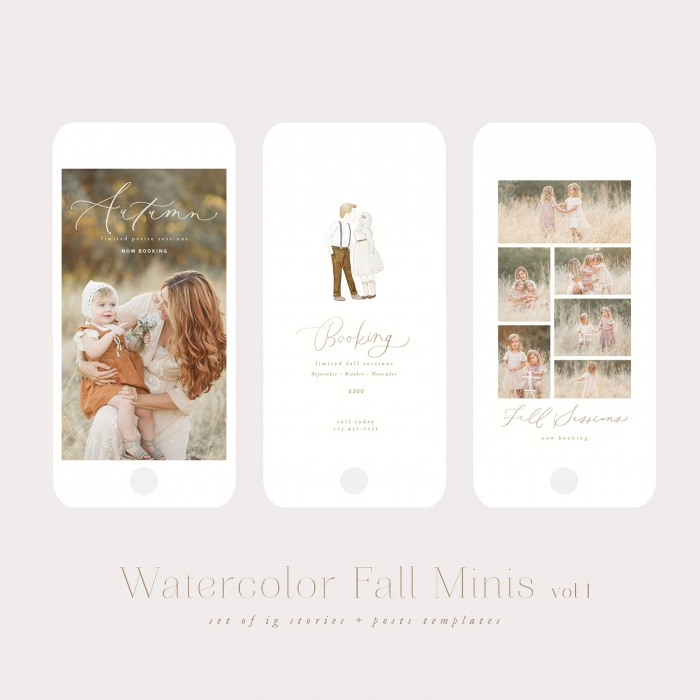 watercolor_fall_minis_vol1