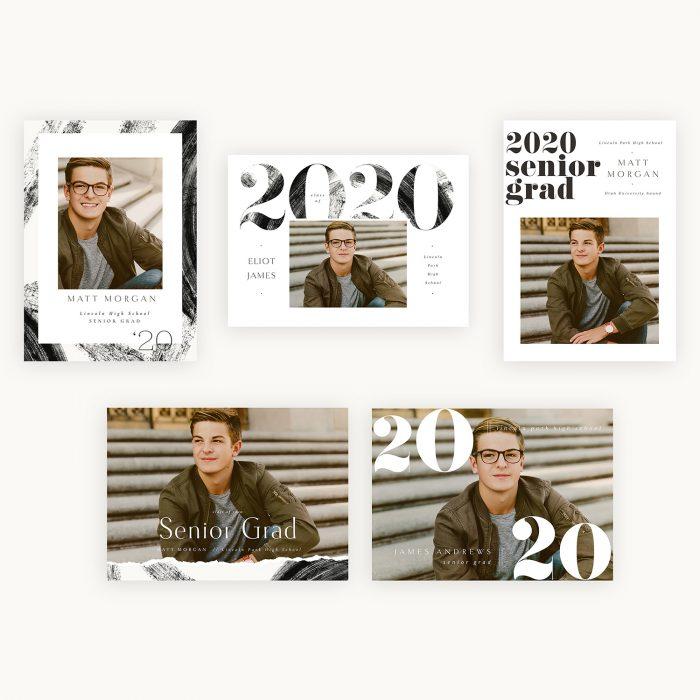 Bold_type_boy_graduation_cards