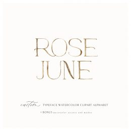 Rose_june_clip_art_alphabet