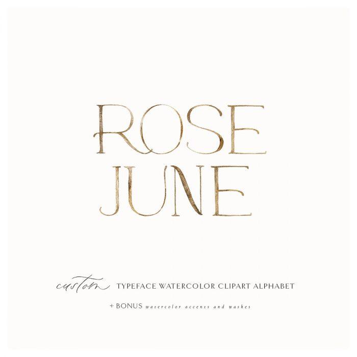 Rose_june_clip_art_alphabet
