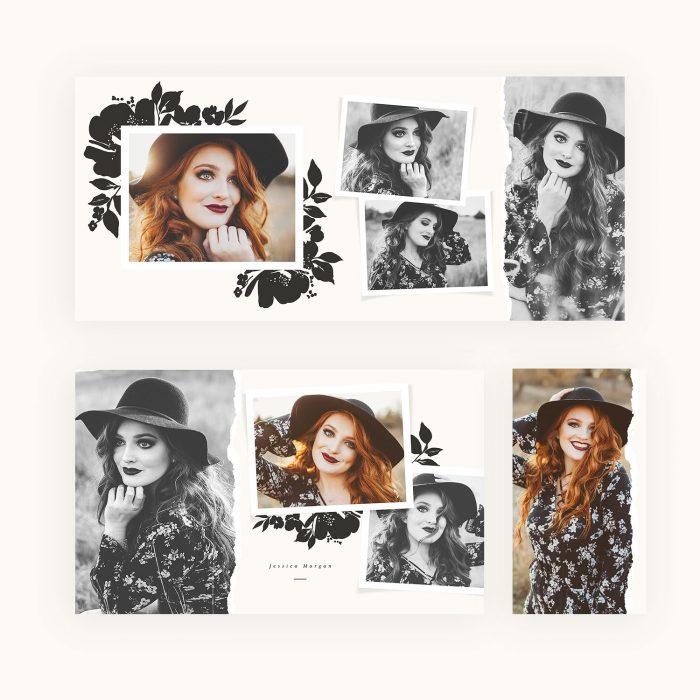 black_florals_4x8_accordion_album_