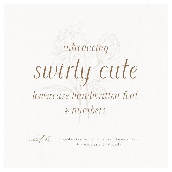 swirly_cute_font