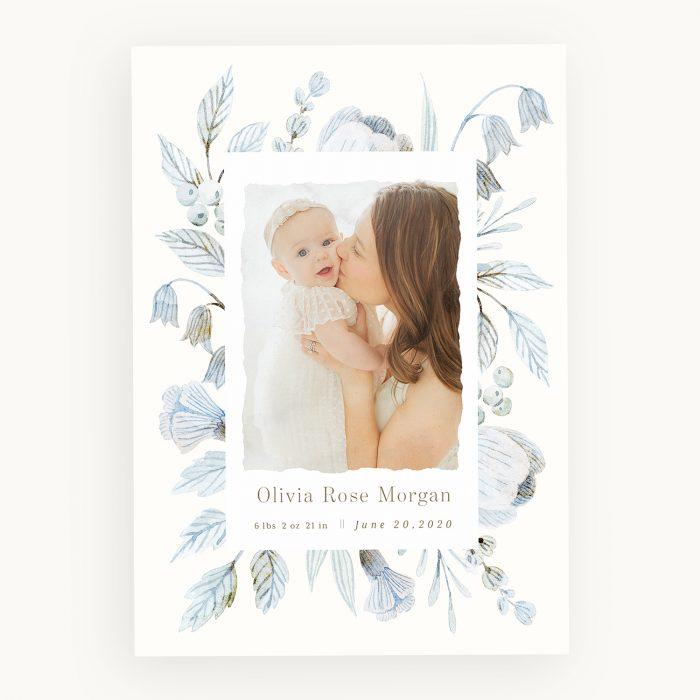 blue_florals_birth_announcement
