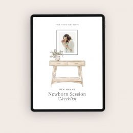 newborn_session_checklist_template