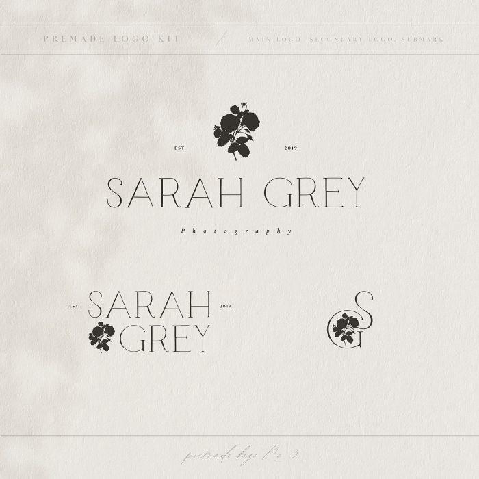 Sarah_grey_premade_logo