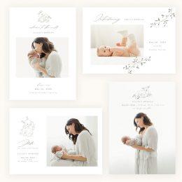 smitten_birth_announcement_cards_vol2