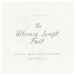 whimsy_Script_font