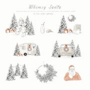 whimsy_santa_illustrations