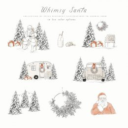 whimsy_santa_illustrations