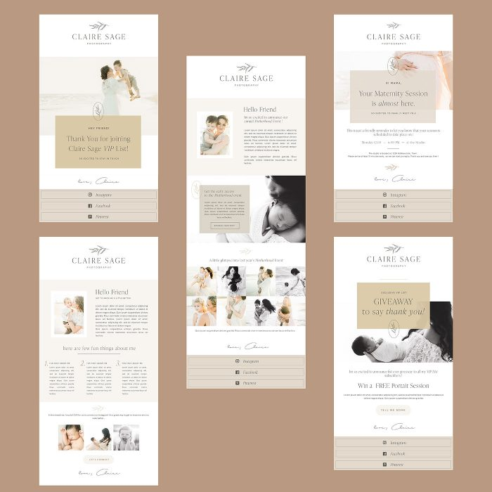 Claire_Sage_email_templates