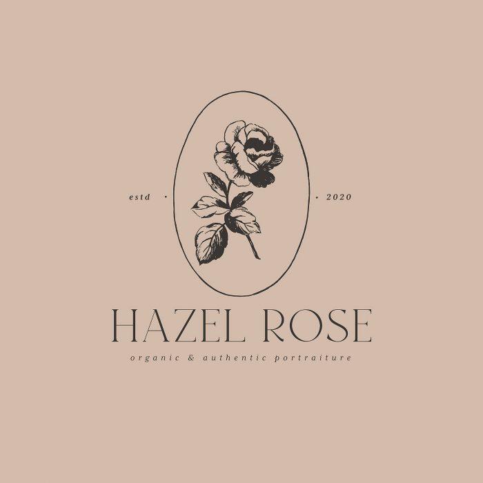 hazel_rose_premade_editable_logo